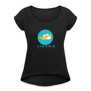 Digital nomad - Women's Roll Cuff T-Shirt
