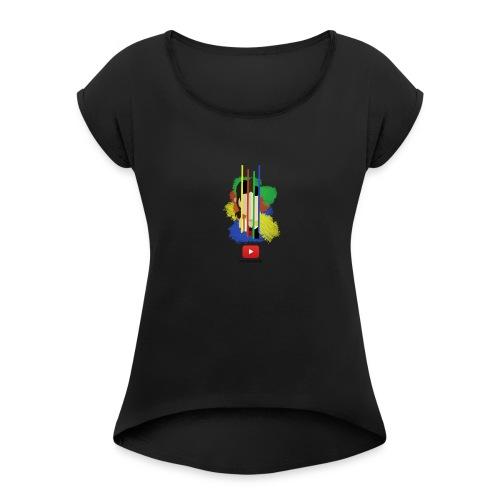 PontoSem Trademark 2017 - Women's Roll Cuff T-Shirt