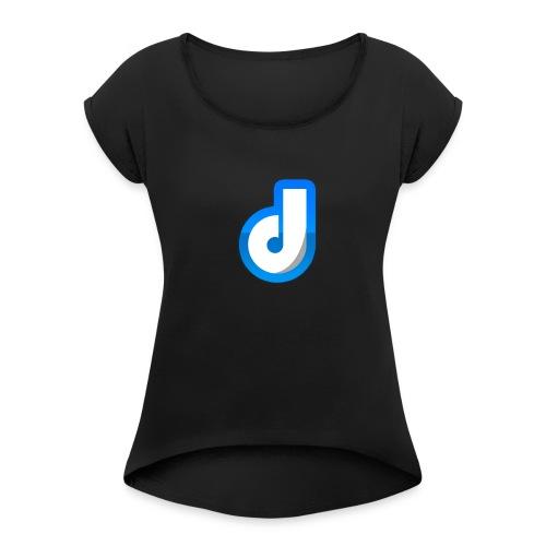 Logo van Dinaih - Women's Roll Cuff T-Shirt