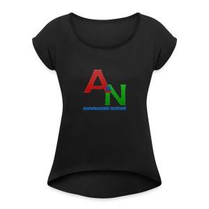 Awwsassin Nation - Women's Roll Cuff T-Shirt