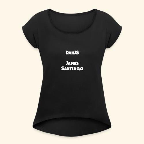THEJS - Women's Roll Cuff T-Shirt