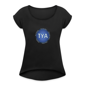 Texas Youth Advocates Apparel - Women's Roll Cuff T-Shirt