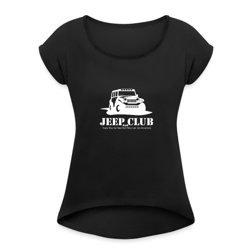 Jeep 4x4 Club - Women's Roll Cuff T-Shirt