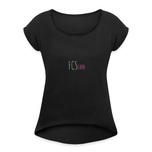 FCSfamily - Women's Roll Cuff T-Shirt