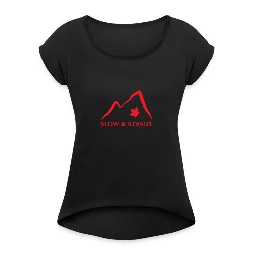 highres_188092852 - Women's Roll Cuff T-Shirt