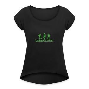 leprecons - Women's Roll Cuff T-Shirt