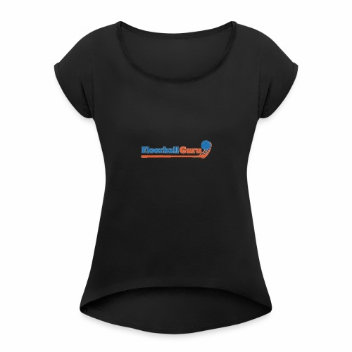 Floorball Guru - Women's Roll Cuff T-Shirt