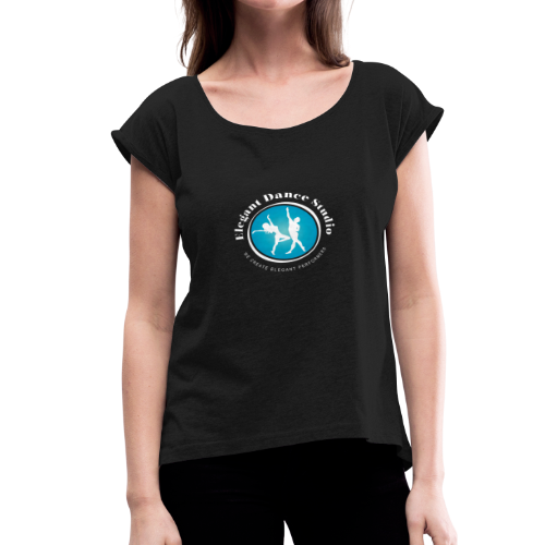 EDS Logo 2 - Women's Roll Cuff T-Shirt