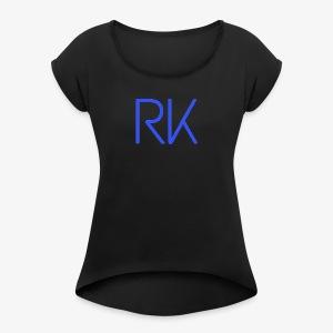 Blue Chill RK - Women's Roll Cuff T-Shirt