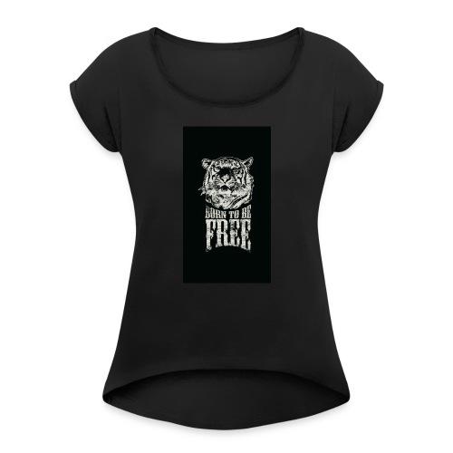 Free - Women's Roll Cuff T-Shirt