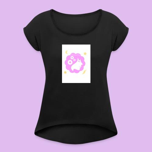 Celestial Girl - Women's Roll Cuff T-Shirt