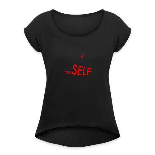 AJ'S - Women's Roll Cuff T-Shirt