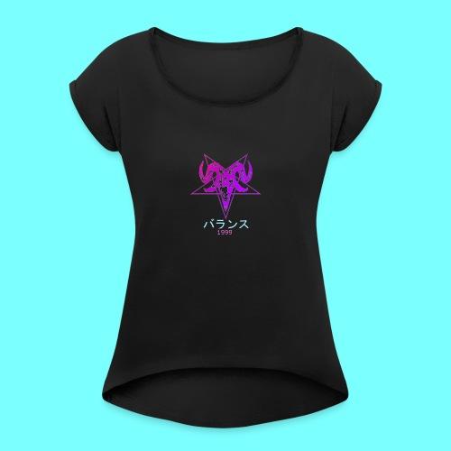 baphomet 1999 - Women's Roll Cuff T-Shirt