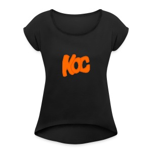 KingOfCookies Collection - Women's Roll Cuff T-Shirt