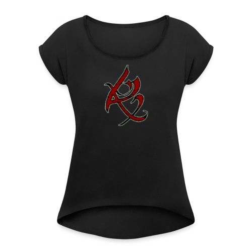 Resurrection Design - Women's Roll Cuff T-Shirt