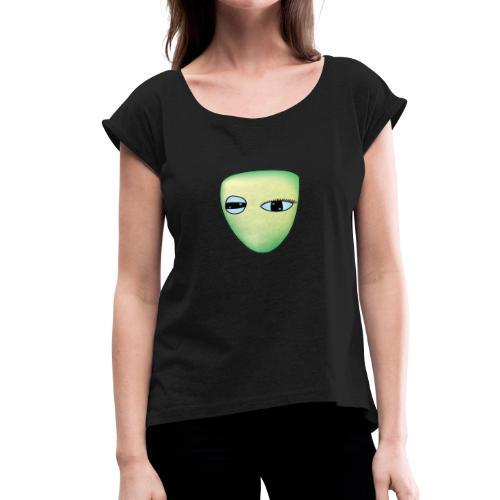 Green Raelien - Women's Roll Cuff T-Shirt