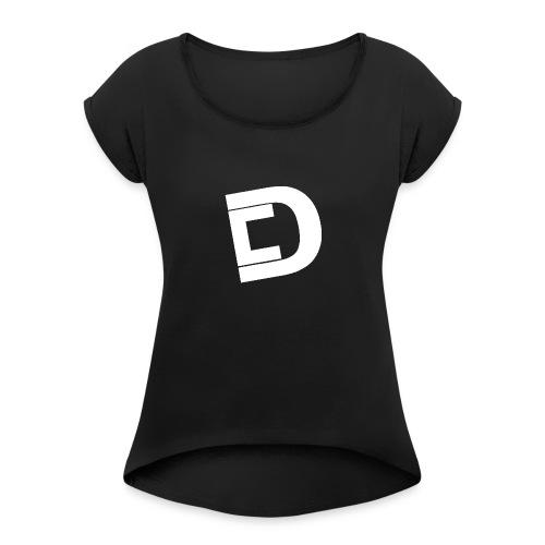 DrewskysChannel Youtube Logo - Women's Roll Cuff T-Shirt