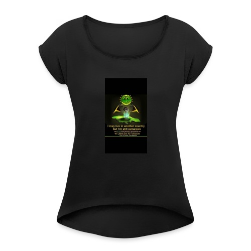 Jamaica - Women's Roll Cuff T-Shirt