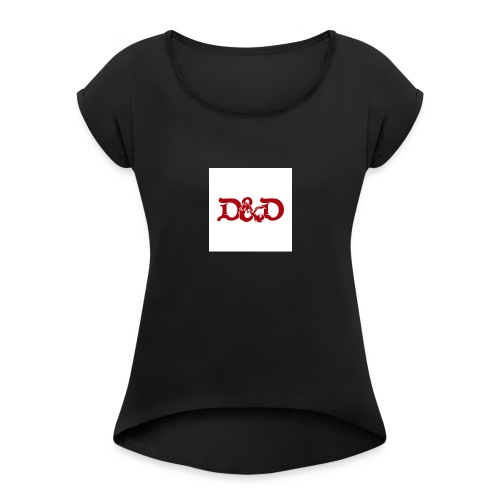 Dungeons and Dragons - Women's Roll Cuff T-Shirt