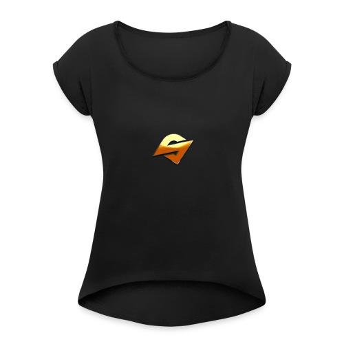 StanZZ Logo! - Women's Roll Cuff T-Shirt