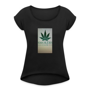 Smokers club - Women's Roll Cuff T-Shirt