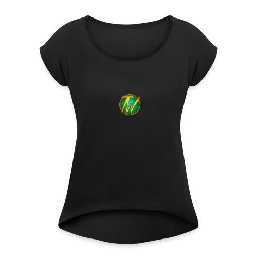 TechWorld 360 Youtube Channel Official merchendise - Women's Roll Cuff T-Shirt