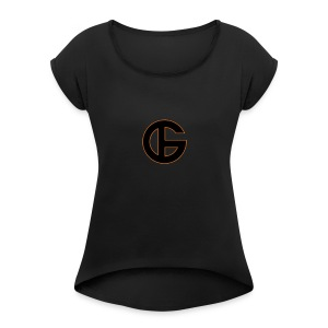 Discover Style - Women's Roll Cuff T-Shirt