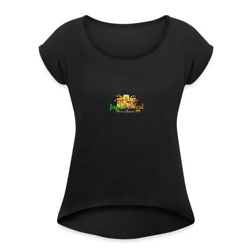 jugos dogal - Women's Roll Cuff T-Shirt