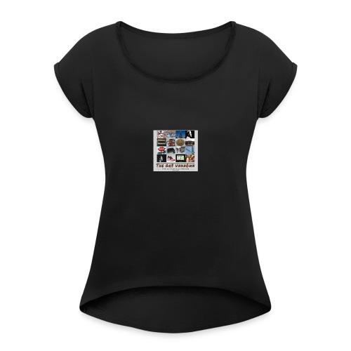 The Gr8 Unkn0wn - Women's Roll Cuff T-Shirt