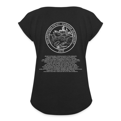 PS101 participant T-shirts - Women's Roll Cuff T-Shirt