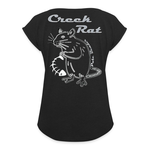 Creek Rat Fishbone - Women's Roll Cuff T-Shirt