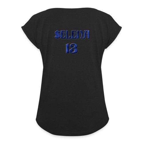 Fusion Flow Selena - Women's Roll Cuff T-Shirt