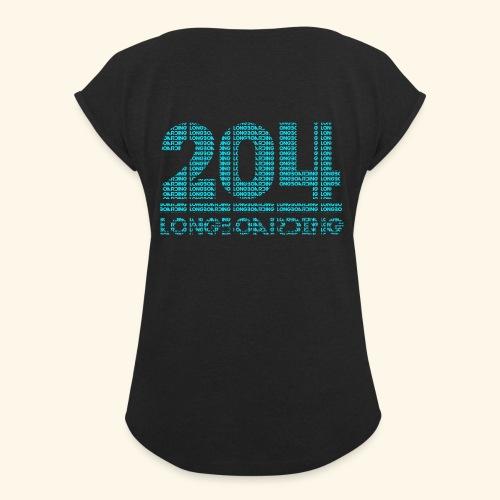 Letter-Ception - Women's Roll Cuff T-Shirt