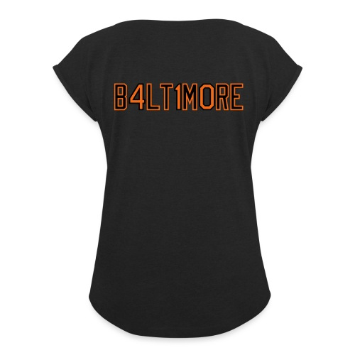 B4LT1M0RE - Women's Roll Cuff T-Shirt