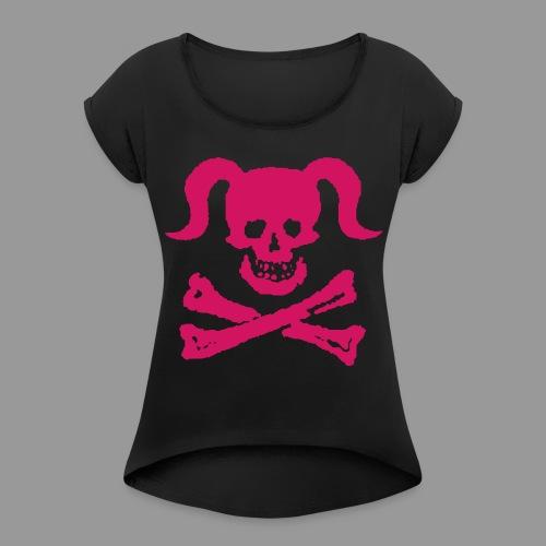 Dirty Girly - Women's Roll Cuff T-Shirt