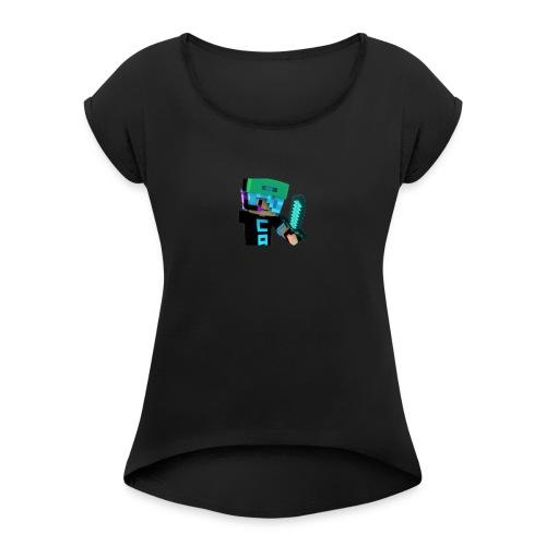 jes pro - Women's Roll Cuff T-Shirt
