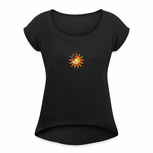 SD! Corner - Women's Roll Cuff T-Shirt