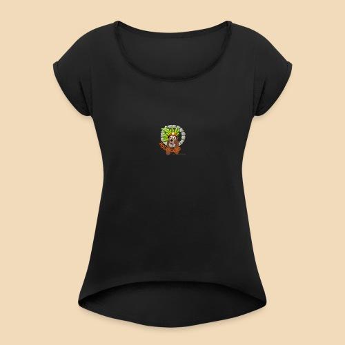 Rockhound reduce size4 - Women's Roll Cuff T-Shirt