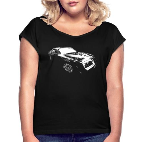 Classic Car - Women's Roll Cuff T-Shirt