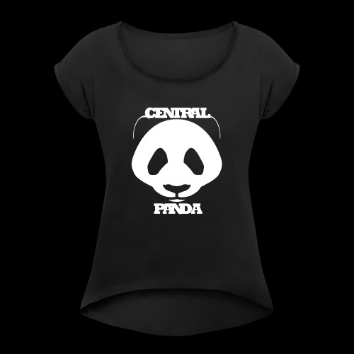 Central Panda - Women's Roll Cuff T-Shirt