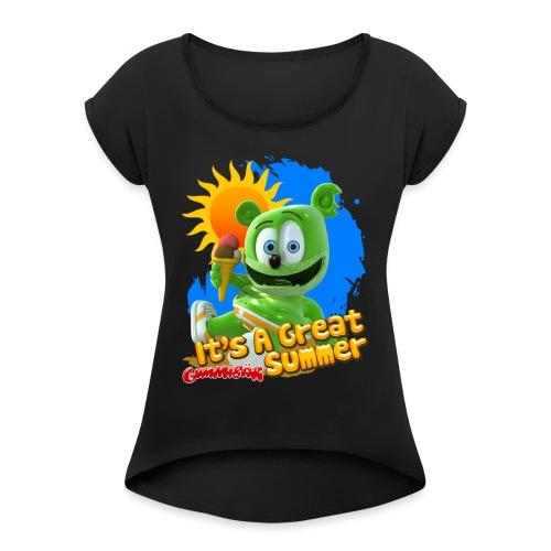 It's A Great Summer - Women's Roll Cuff T-Shirt