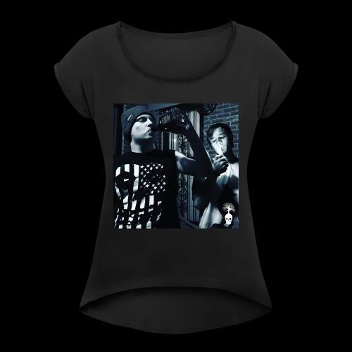 The Party Shirt - Women's Roll Cuff T-Shirt