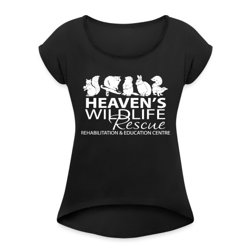 HWR White - Women's Roll Cuff T-Shirt