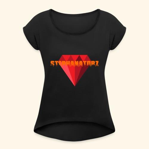 Rubis stephanevlogs merch - Women's Roll Cuff T-Shirt