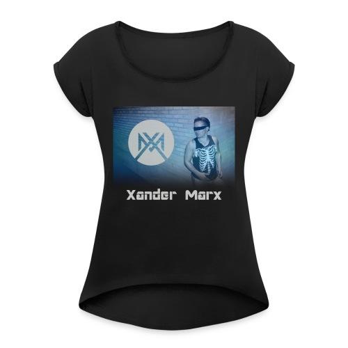 Xander Phantom T-Shirt - Women's Roll Cuff T-Shirt