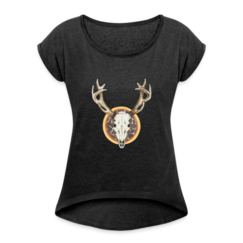 Death Dearest - Women's Roll Cuff T-Shirt