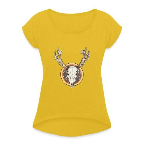Death Dearest - Women's Roll Cuff T-Shirt