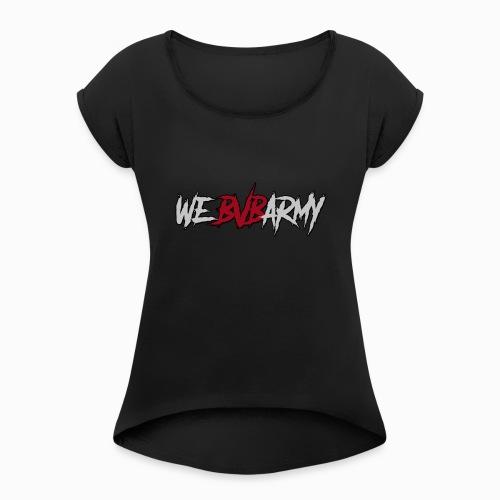 BLACK VEIL BRIDES ARMY - Women's Roll Cuff T-Shirt