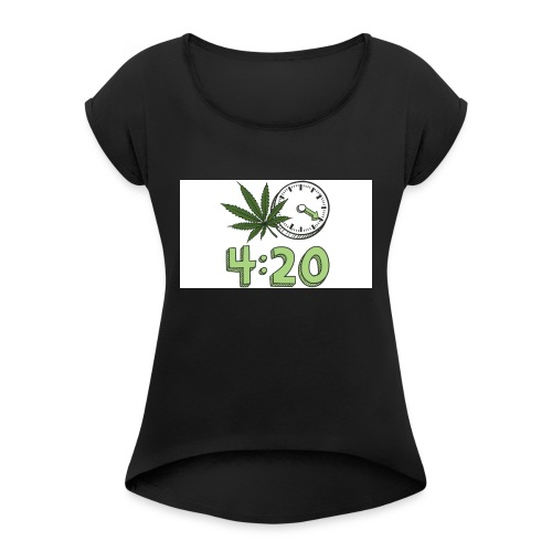 420 - Women's Roll Cuff T-Shirt