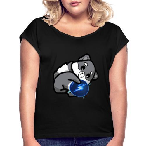 Eluketric's Zapp - Women's Roll Cuff T-Shirt